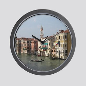 Romance in Venice Wall Clock