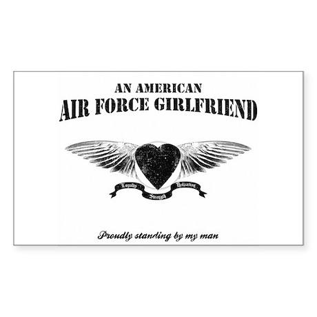 An American Air Force GF Rectangle Sticker