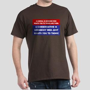 A Conservative Dark T-Shirt