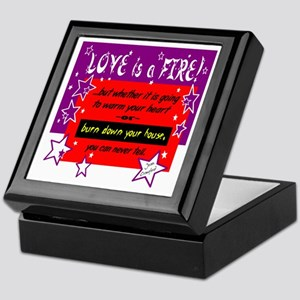 Love Is A Fire/Joan Crawford Keepsake Box