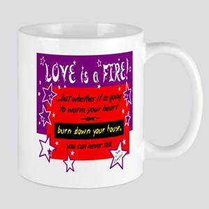 Love Is A Fire/Joan Crawford Mugs