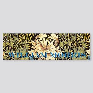 William Morris Chrysanthemums Sticker (Bumper)