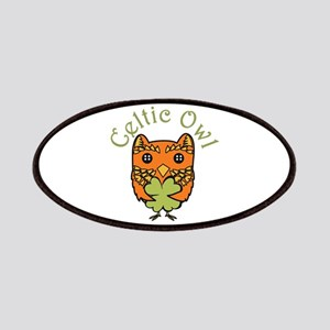 Celtic Owl Patches