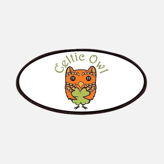 Celtic Owl Patches