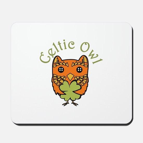 Celtic Owl Mousepad