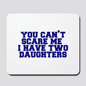 2-daughters-fresh-blue Mousepad