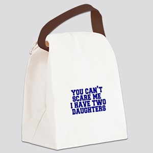 2-daughters-fresh-blue Canvas Lunch Bag