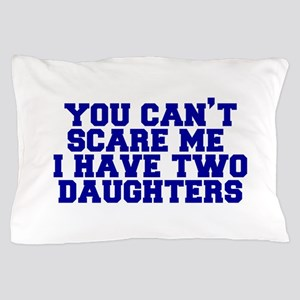 2-daughters-fresh-blue Pillow Case