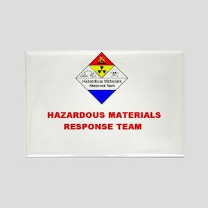 Hazardous Materials Response Team Rectangle Magnet