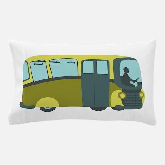 City Bus Pillow Case