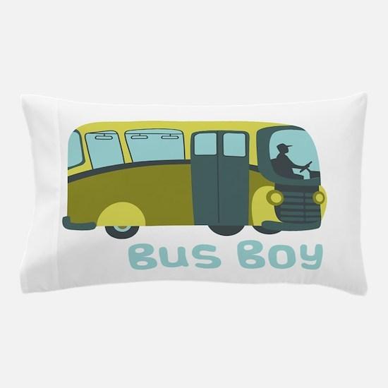 Bus Boy Pillow Case