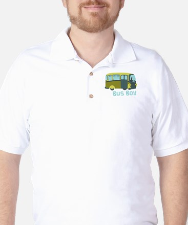 Bus Boy Golf Shirt