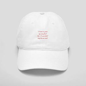 bacon-seeds-cho-red Baseball Cap