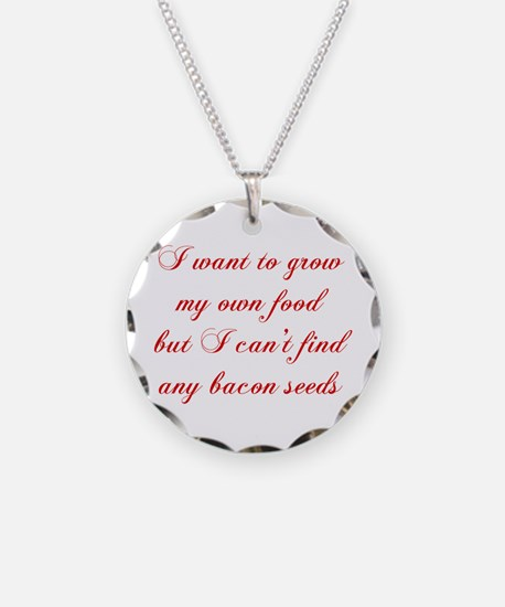 bacon-seeds-cho-red Necklace