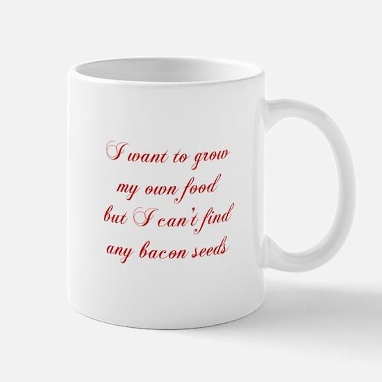 bacon-seeds-cho-red Mugs