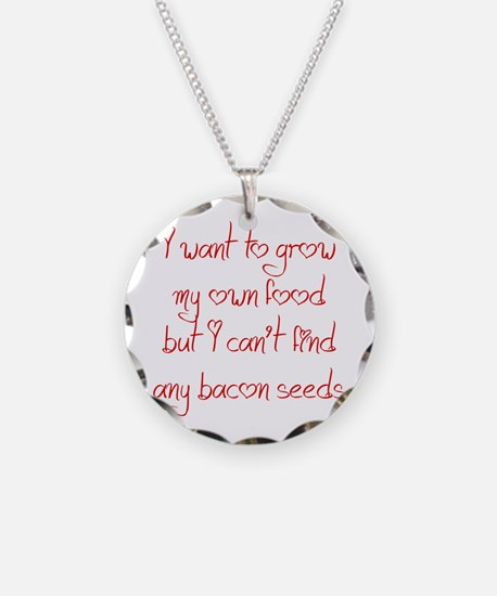 bacon-seeds-jel-red Necklace