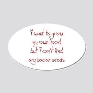 bacon-seeds-jel-red Wall Decal
