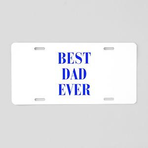best-dad-ever-BOD-BLUE Aluminum License Plate
