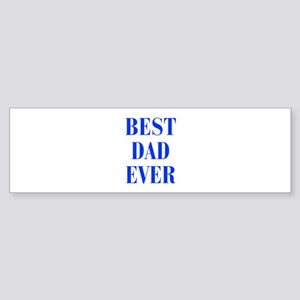 best-dad-ever-BOD-BLUE Bumper Sticker