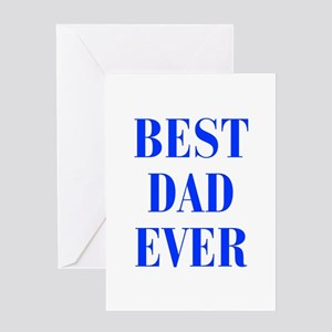 best-dad-ever-BOD-BLUE Greeting Cards