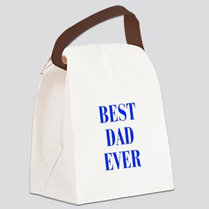 best-dad-ever-BOD-BLUE Canvas Lunch Bag
