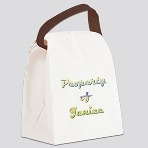 Property Of Janice Female Canvas Lunch Bag