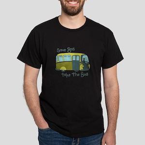 Save Gas, Take The Bus T-Shirt