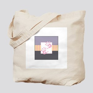 Baby Hands Square Tote Bag