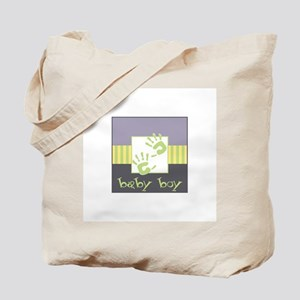 Baby Boy Hands Tote Bag