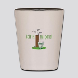 Golf Is My Game Shot Glass