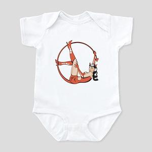 She-Devil Pin-Up Girl Infant Bodysuit