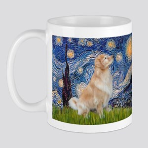 Starry Night & Golden Mug