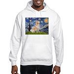 Starry Night & Golden Hooded Sweatshirt