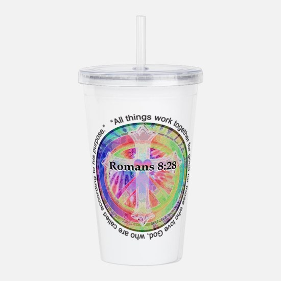 Cute 828 Acrylic Double-wall Tumbler