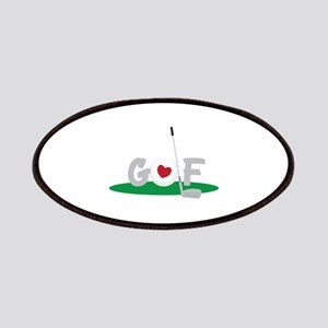 Love Golf Patches