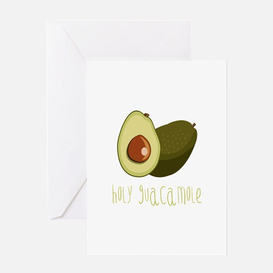 Holy Guacamole Greeting Cards