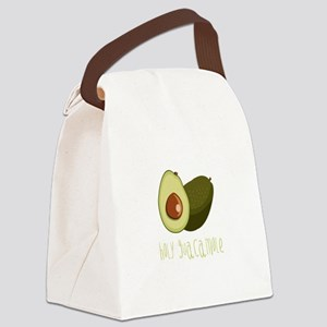 Holy Guacamole Canvas Lunch Bag