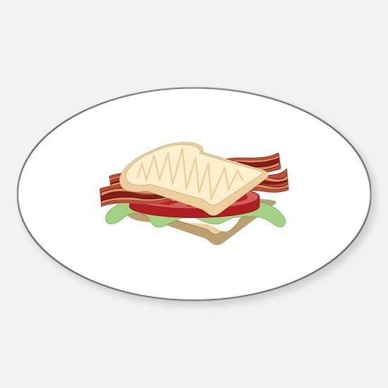 BLT Sandwich Decal