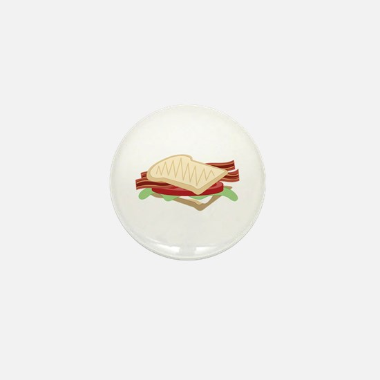 BLT Sandwich Mini Button