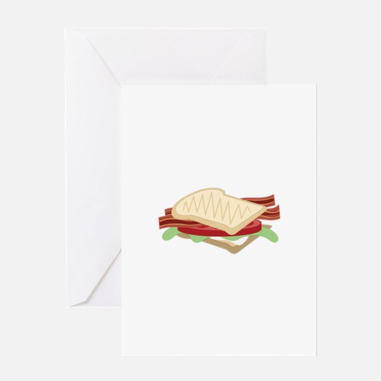 BLT Sandwich Greeting Cards