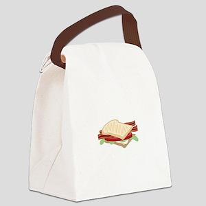 BLT Sandwich Canvas Lunch Bag