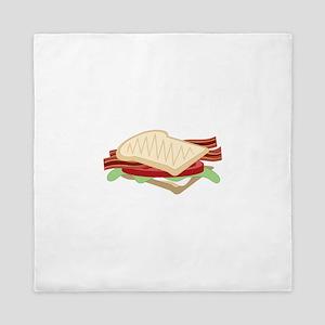 BLT Sandwich Queen Duvet