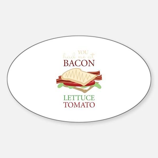 Bacon Lettuce Tomato Decal