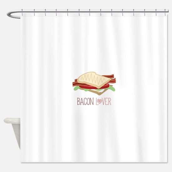 Bacon Lover Shower Curtain