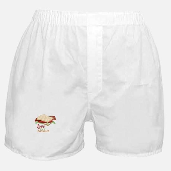 Sammich Love Boxer Shorts