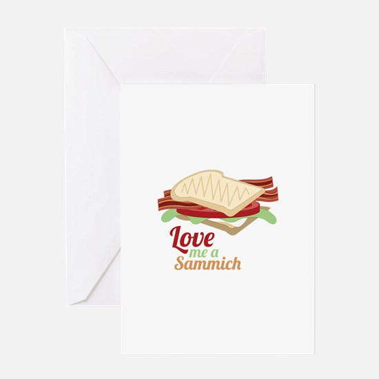 Sammich Love Greeting Cards