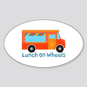 Lunch On Wheels Sticker