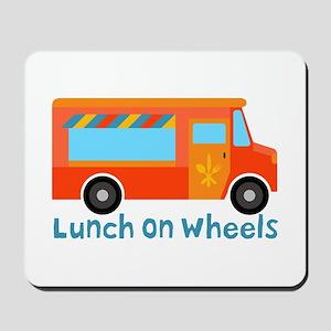 Lunch On Wheels Mousepad