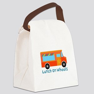 Lunch On Wheels Canvas Lunch Bag