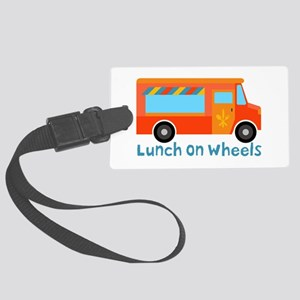 Lunch On Wheels Luggage Tag